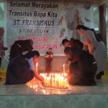 Perayaan Transitus St. Fransiskus Assisi