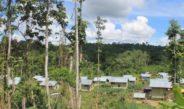 Akses Jalan di Kampung Kwarca Sangat Memperhatinkan