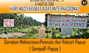 Seruan Aksi Hari Masyarakat Adat Internasional