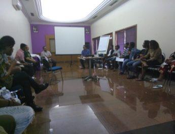Diskusi Tentang Papua Diintimidasi di Bali