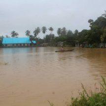 Perusahaan Sawit Babat Hutan, Banjir Melanda di Tanah Yeresiam Gua