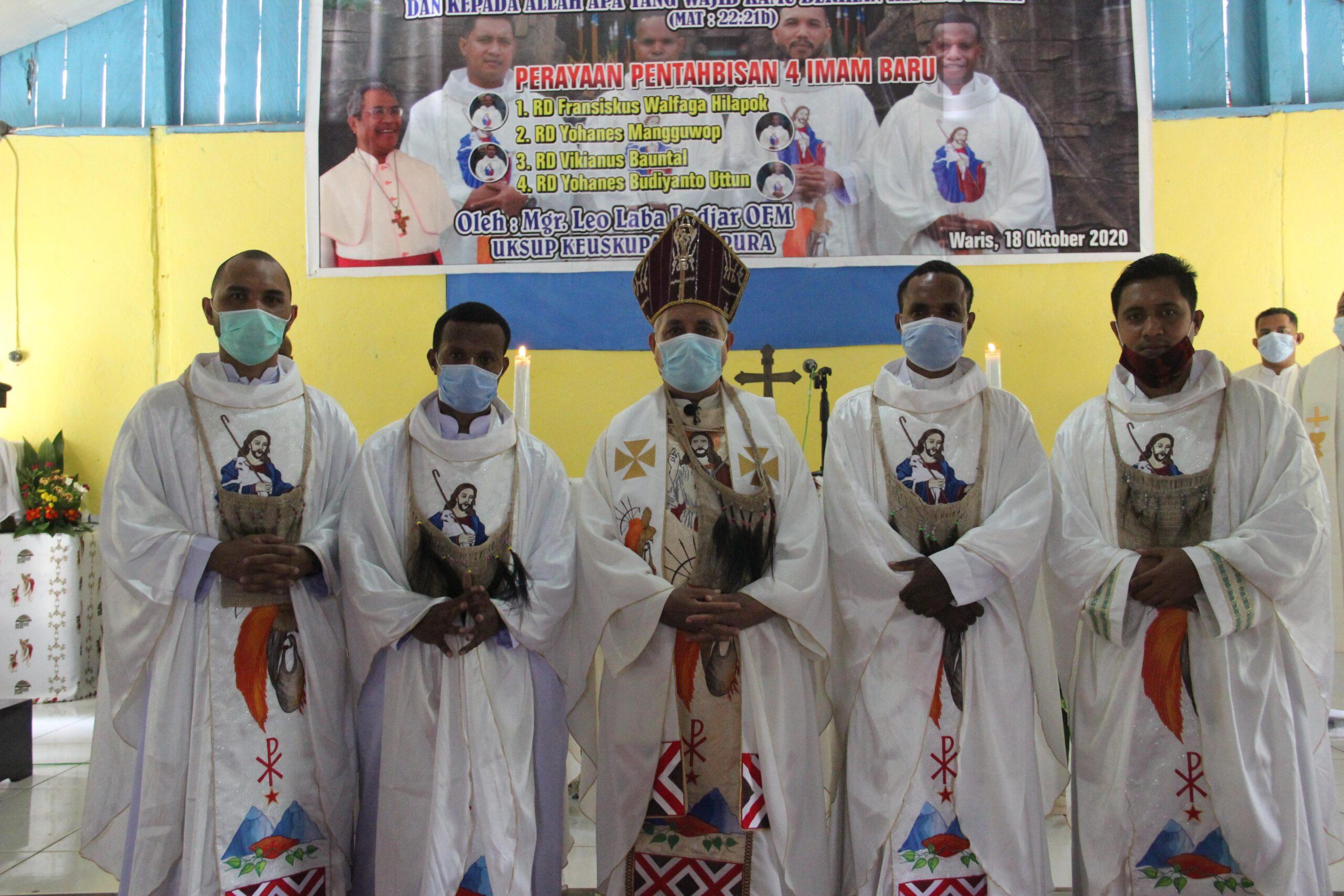 Thabisan Imam di Waris: Perayaan Umat Keuskupan Jayapura